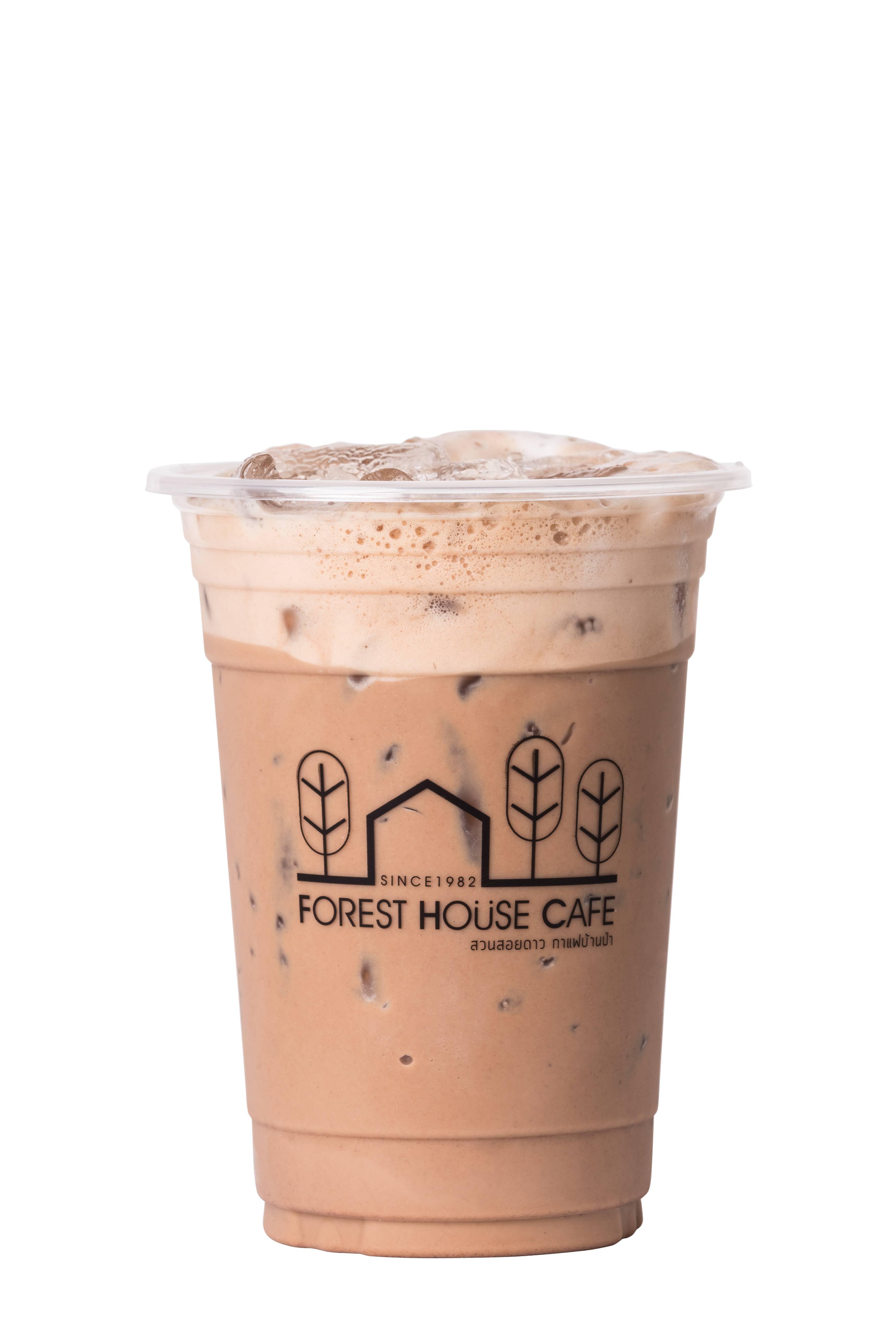 สกรีนแก้วกาแฟ ร้าน Forest House